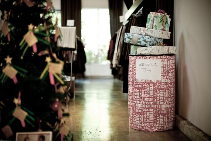 EBAC Gift Bin at the Stella Carakasi Boutique