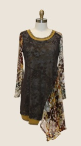 womens tops_over_achiever_tunic_print_front