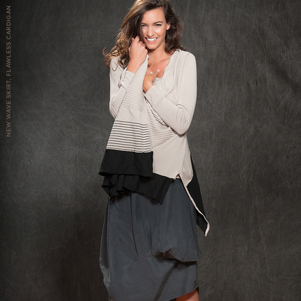Flawless Cardigan, New Wave Skirt