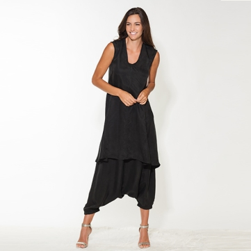 The Freestyle Dress over the Simply Chic Pants.