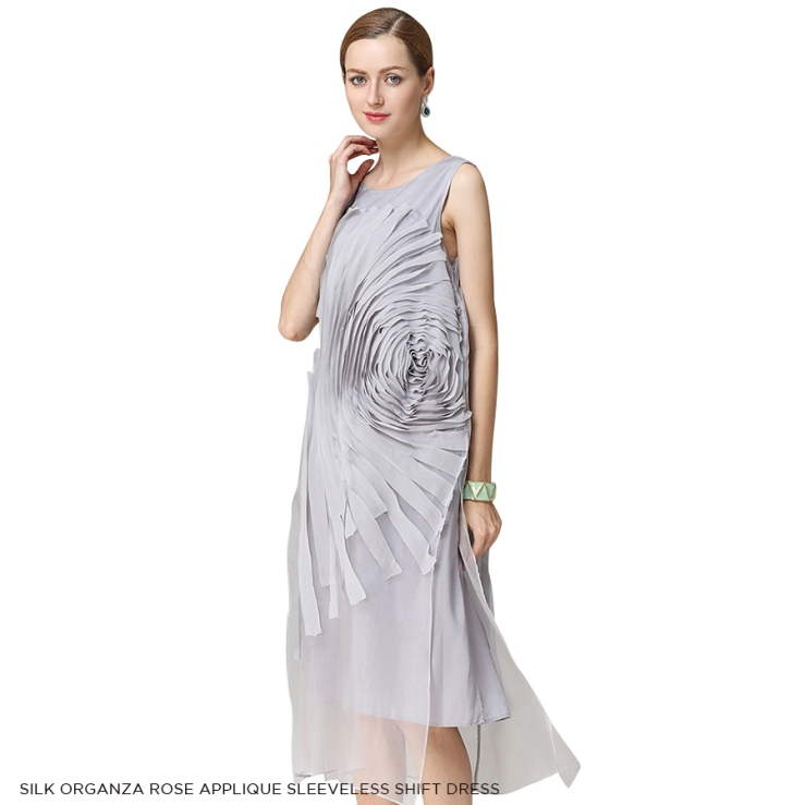 womens-dresses-silk-organza-rose-applique-sleeveless-shift-dress-mist-side copy copy